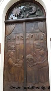 ©TravelwithWendy - ancient door - Prague www.travelwithwendy.net