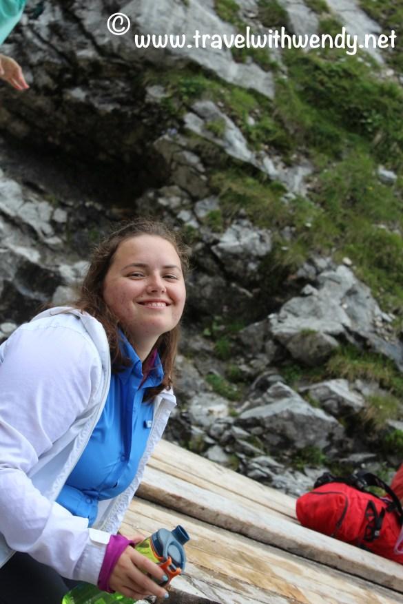 TWW - Katy enjoying the outdoors