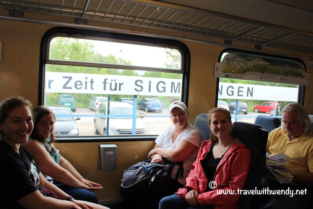 TWW - Train ride through Swabia