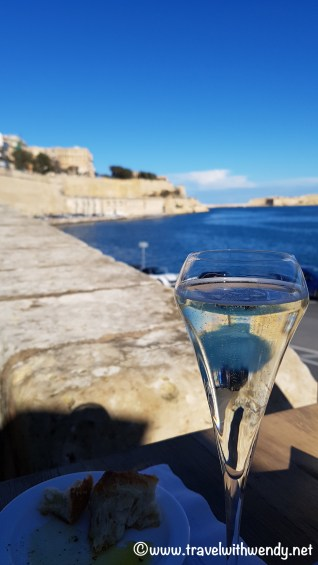 Views from our seats - Valletta