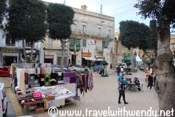 Market day in Victoria, Il-Rabat, Gozo
