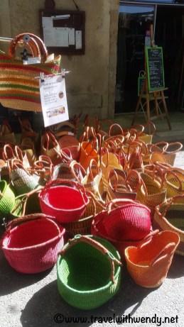 Baskets and More...Apt Market - Provence, France
