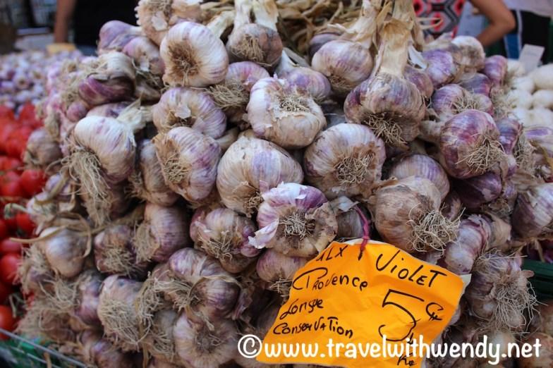 Garlic!! at the French Markets