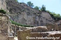 Part of the Roman Theatre - Orange, France