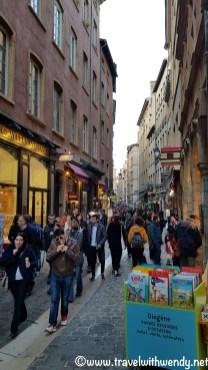 Shopping along St. Jean - Lyon