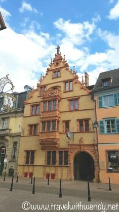 Colmar - famous wine building