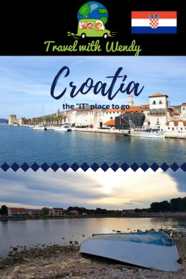 Croatia pin - the IT place to go