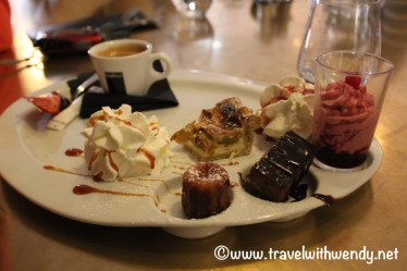 Desserts at Cafe du Commerce - Nancy