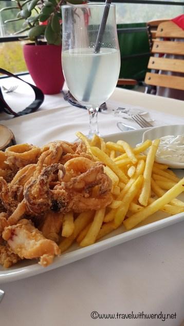 Fried Squid - Calamari