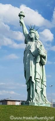 Little statue of Liberty - Colmar