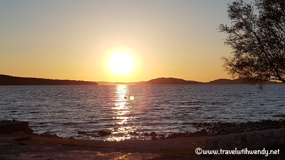 Sunset in Zablaće