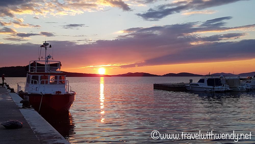 Sunsetting on the bay- Zablaće