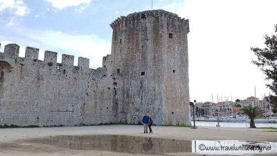 Trogir - ruins of the fortress - Croatia