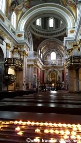 Inside the Cathedral Ljubljana
