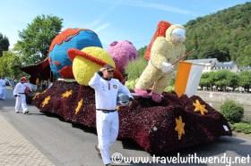 NASA float Bad Ems Flower parade - August