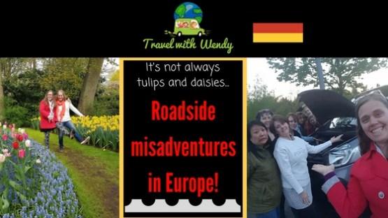 roadside misadventures - cover