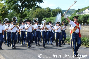 US Army Band performing in Bad Ems