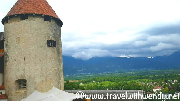 Views from Castle Bled