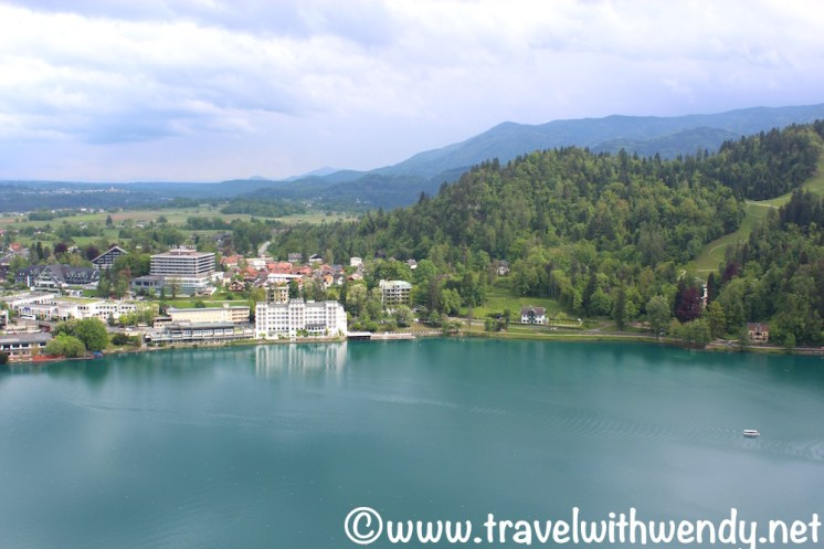 Views of Bled proper