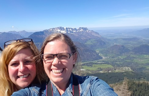 Carin and I - Berchtesgaden
