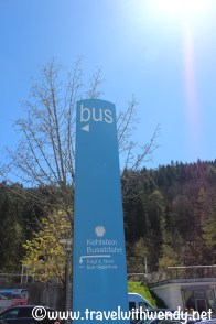 Kehlstein bus stop