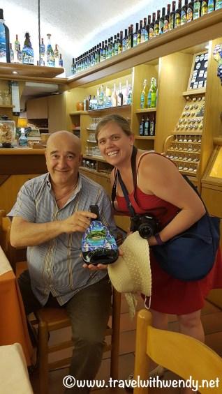 My new Buddy Bruno Tagliapietra - painter and entrepreneur