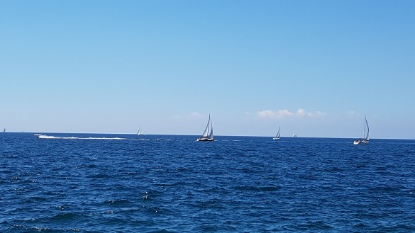 Sailboats in Piran