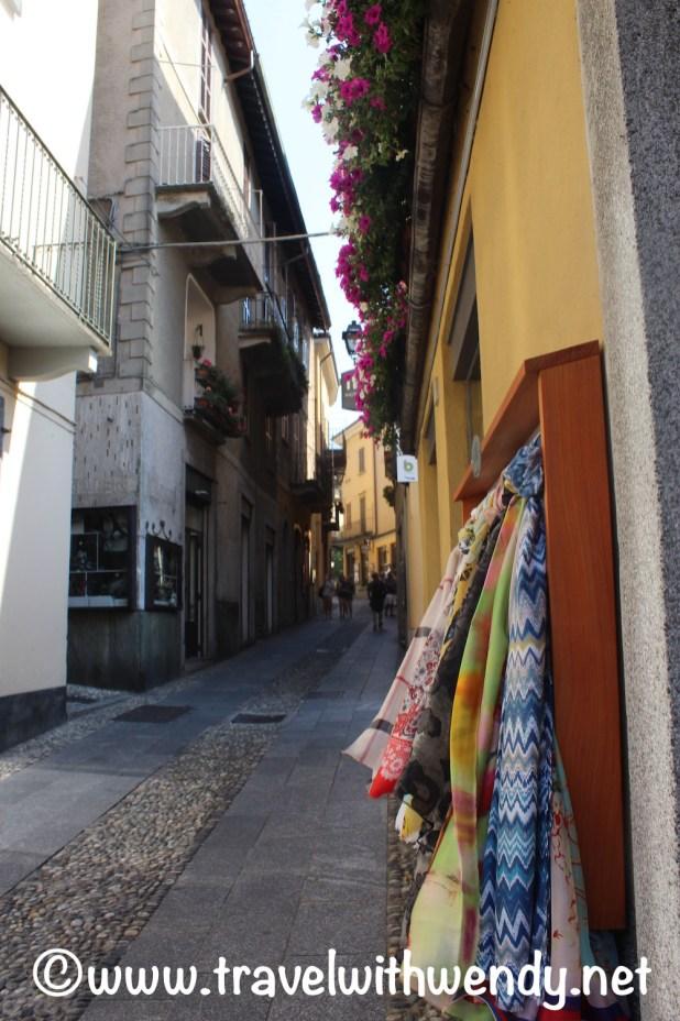 Shopping in Bellagio