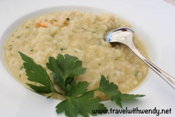 Shrimp and seafood risotto