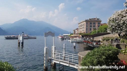 Views of the harbor - Bellagio