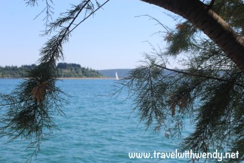 Views from the parks in Portorož