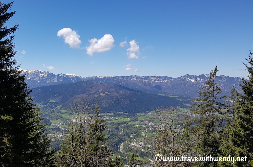 Views on the way to Kehlstein