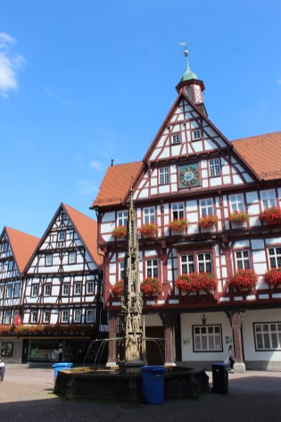 Beautiful houses of Germany