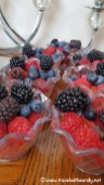 Breakfast at Furan - fresh fruit