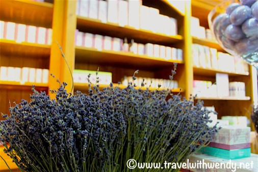 Lavender Museum - shops and smells!