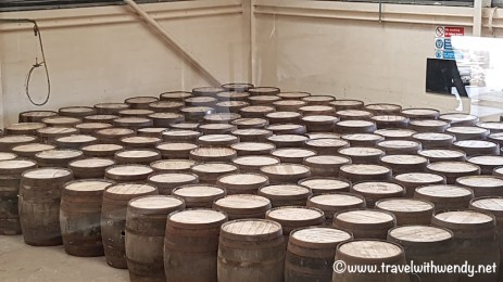 Speyside - barrels ready to go