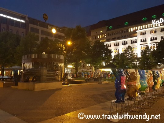 Berlin at Night - Buddy Bear