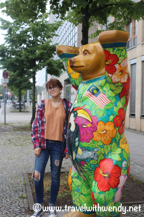 Berlin - more Berlin bears everywhere- Mexican Embassy
