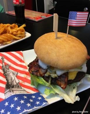 German Classic Diner - All american burger