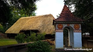 Grass roof houses - 1300