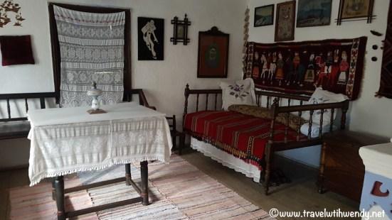 Interior 1800 house - Moldavia