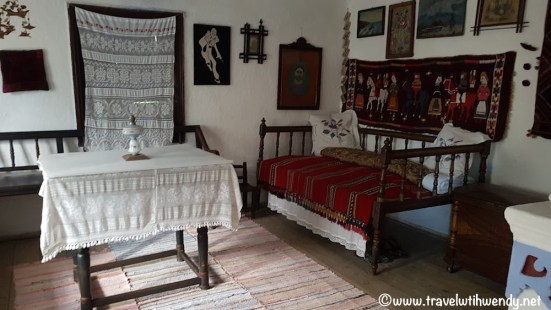 Interior 1800 house - Moldavia