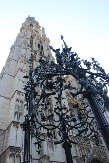 Medieval and Renaissance design with Lady Antwerp Cathedral