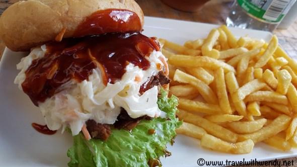 BBQ Sandwich - Burger House - Stuttgart