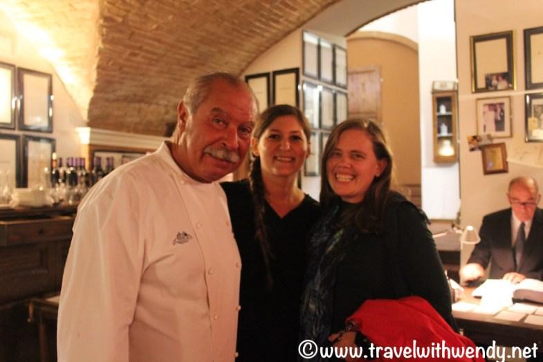 Claudio and Laurie - La Taverna - Perugia