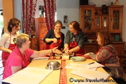 Having fun with Raffa - Let's Cook in Umbria
