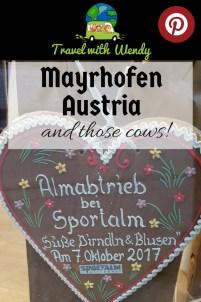 Mayrhofen Pin