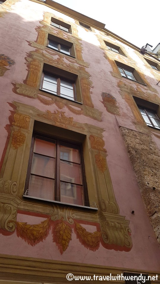 Beautiful buildings in Innsbruck