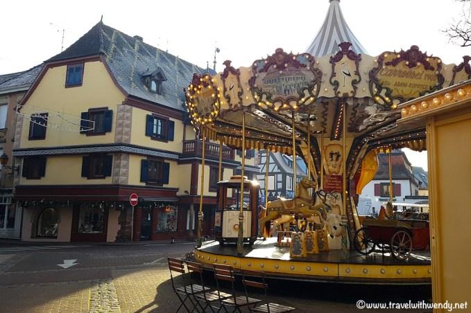 Carousel in Obernai