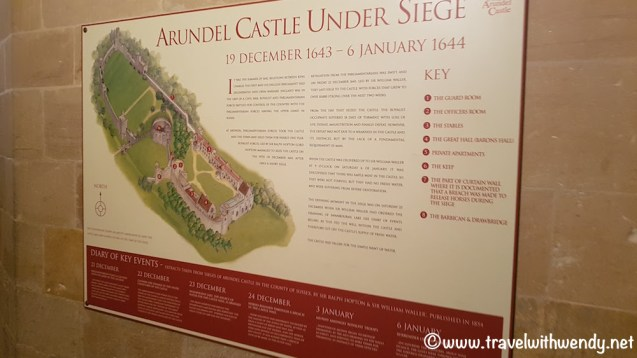 Arundel Castle still stands